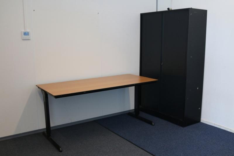 Ahrend 100 bureau 140x80 cm alles voor de for Bureau 100 cm