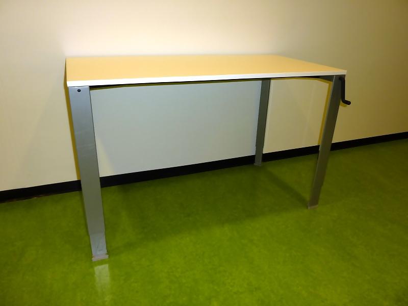 Ahrend 700 slinger verstelbaar bureau 120x60cm alles for Ahrend ladeblok prijs