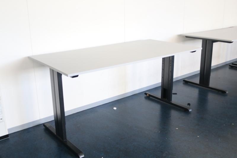 Bureau 160x80 cm hoogte instelbaar alles voor de for Bureau 160 cm