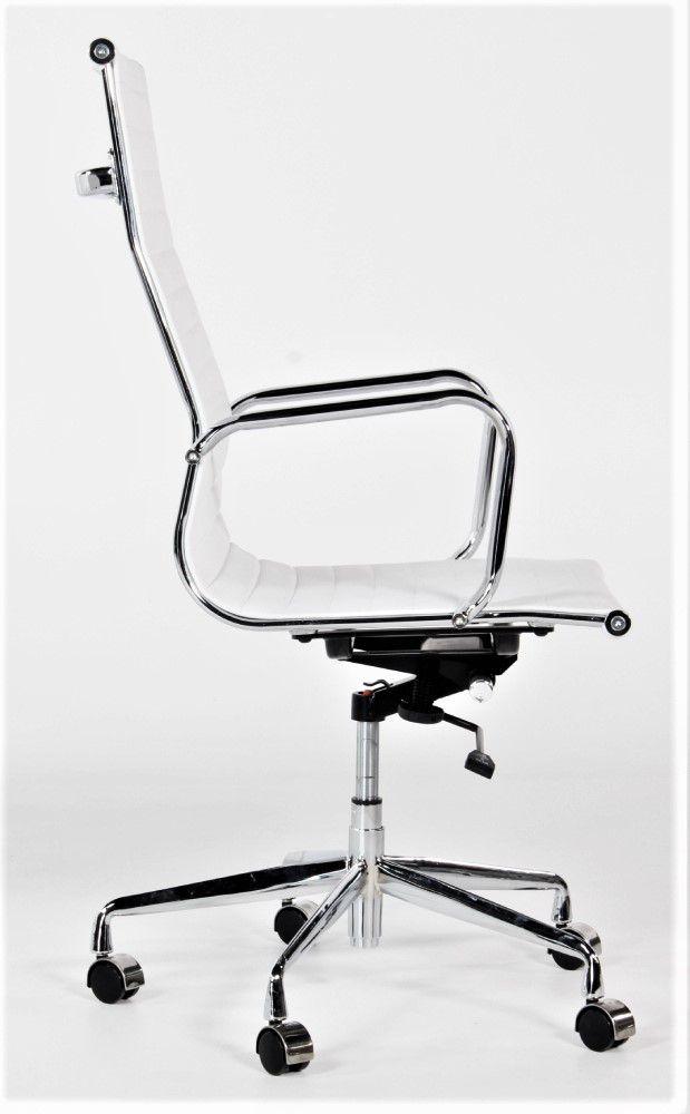 Wit Lederen Bureaustoel.Directie Bureaustoel Wit Assemblee Van Cas Alles Voor De