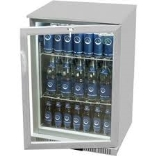 Gastro Cool Back bar Koeler 1 deur. Led Zilver