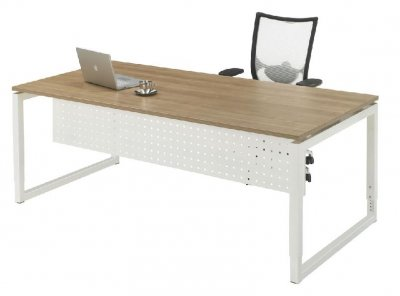 Bureautafel trek serie 200x100 cm in setting